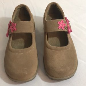 Girls Stride rite Johanna leather Velcro  11.5